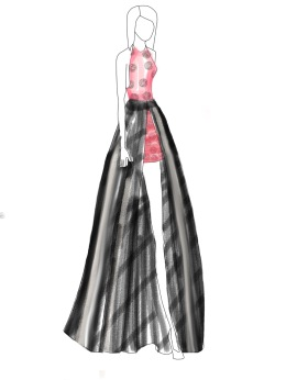 Taylor Swift Grammy's 2015 Inspired Drawing Pad App Illustration