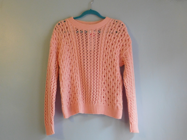 Louise Alice Jay Pink Jumper