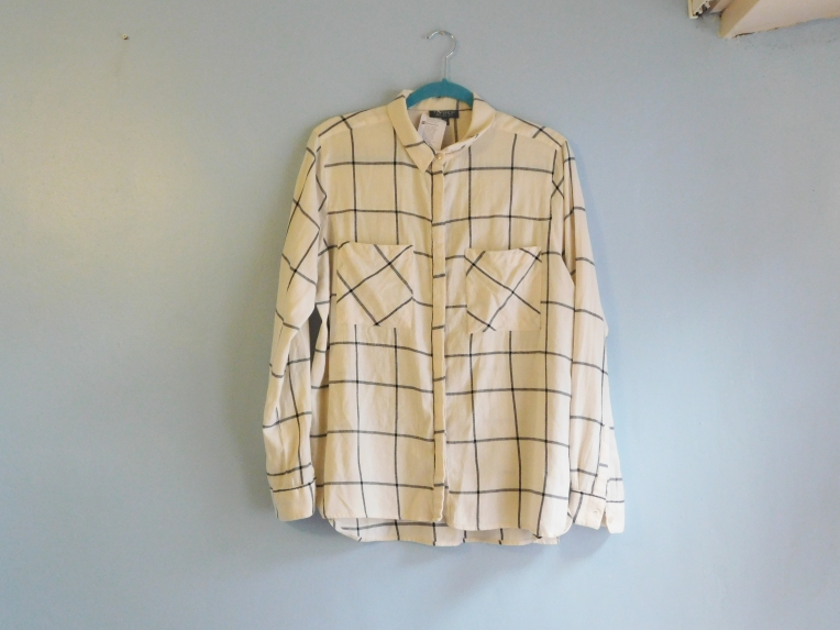Louise Alice Jay Windowpane Shirt